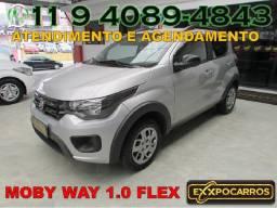 Fiat Mobi Way 1.0 Flex Completo - Ano 2017 - Bem Conservado - Financio