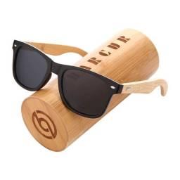Óculos Masculino Bambu