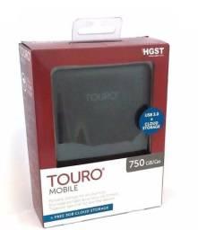 HD Externo Touro 750gb USB 3.0 confiável - sem compressão de 1 Tb tem compressao