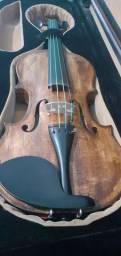 Violino Profissional Gianinni restaurado por Luthier