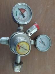 Regulador para CO2 e nitrogênio
