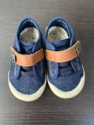 3 pares Sapatos menino Tam 20