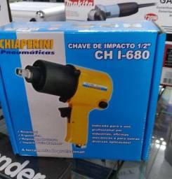 Chave de impacto de 1/2 pneumática (novo)