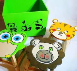 Kit Infantil amigos da floresta