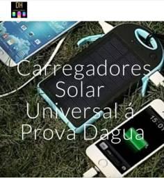 Carregadores Solar Universal á Prova Dagua<br><br>