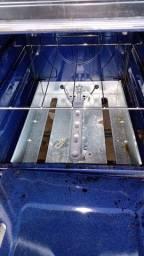 Fogão da Consul modelo novo pouco foi usado 4 bocas 770 com sugar da continental de brinde