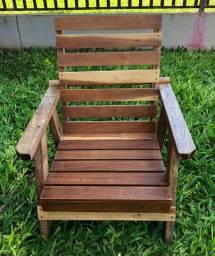 Cadeira para crianças - Madeira Garapeira