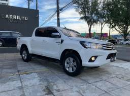 Toyota Hilux SRV 2.7 4x4 Automático Flex 2018/2018 com Garantia toda Revisada