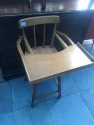 Cadeira de papa para crianças