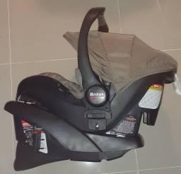 Bebê conforto com base para carro Isofix Britax B Safe Sandstone Importado