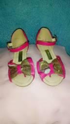 Sapato feminino infantil n°26