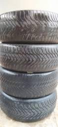 Título do anúncio: 4 pneus usados aro 15 - Goodyear 195/55r15