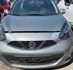Título do anúncio: Sucata Nissan March 2019/2020 em peças