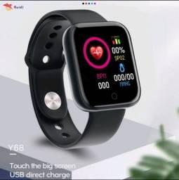 Título do anúncio: Smartwatch Y68 com Bluetooth e a prova d'água IP67 Bluetooth