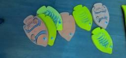 Prancha peixe para natação