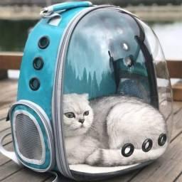 Mochila Pet Astronauta Panorâmica P/ Passeios<br><br>Cães e Gatos