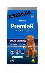 Ração 20kg premier fórmula cães adultos  1,5 anos a 5 anos