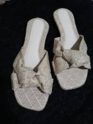 Sandálias rasteirinhas no atacado 10 pares a R$ 150,00.