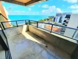 Apartamento com 3 suítes à beira mar, 156 m² por R$ 1.800.000 - Ponta Verde - Maceió/AL