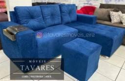 Título do anúncio: Sofá sofá sofá com chaise 750