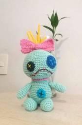 Boneca amigurumi da Xepa (da Lilo e Stitch)