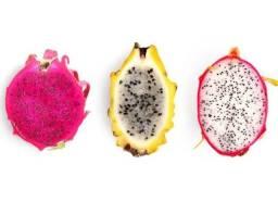 Título do anúncio:  Pitaias amarela godem amarela colombiana poupa branca poupa vermelha