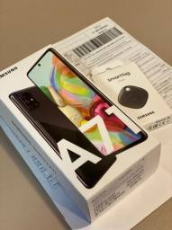 Galaxy A71 Lacrado + Smart Tag