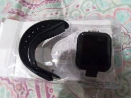 Smartwatch D20 modelo que troca a foto do fundo