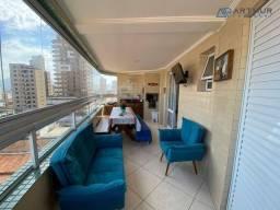 Título do anúncio: Apartamento à venda, 130 m² por R$ 580.000,00 - Vila Guilhermina - Praia Grande/SP