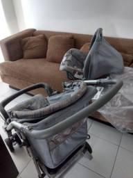 Carrinho + bebê conforto Burigotto