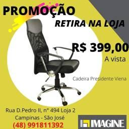 Título do anúncio: Cadeira Presidente Viena