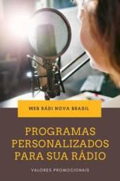 Título do anúncio: Conteúdos para Web Rádios