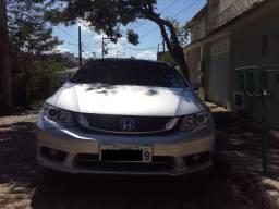 Título do anúncio: Honda Civic LXR 2014/2015 Prata