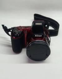 Câmera Nikon Coolpix L810 Vermelha
