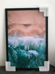 Título do anúncio: Quadro Decorativo Mar 63x43cm