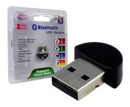Título do anúncio: Adaptador Bluetooth 2.0 Conector Pc Dongle Usb Fone De Ouvido