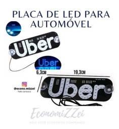 Led Uber AZUL