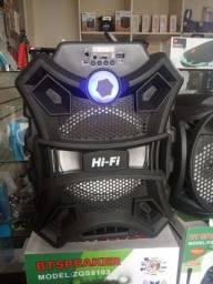 Caixa de som Bluetooth amplificada 20w rms