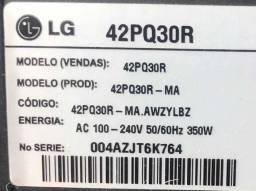 Tv Lg 42 polegadas,placas