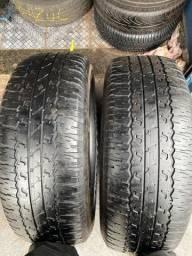 Título do anúncio: 2 pneus 265 65 17 top