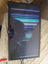 TV 32 Led LG Tela quebrada !!
