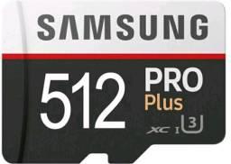 Cartão de memória Micro SD 1024/512 GB Samsung