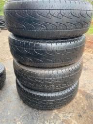 Título do anúncio: 4 pneus 225 65 17 apenas 175$ cada