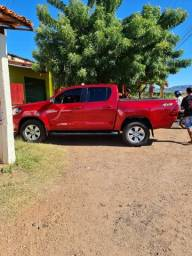 Toyota Hilux 2018/2018 2.7 SRV 4X4 CD 16V Flex 4P Automática Vermelha