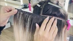 Título do anúncio: Colocação e Manutenção de Mega Hair
