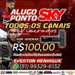 Título do anúncio: SKY HDTV TODOS CANAIS LIBERADOS