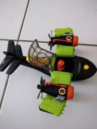 Boneco e Avião da marca Imaginex