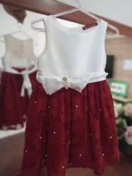 3 Vestidos Infantil Festa