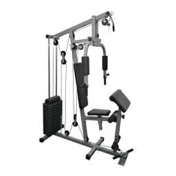 Estação de musculação Fitt10 80kg Aparelho ginástica em casa