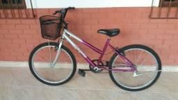 Bicicleta aro 24 praticamente nova